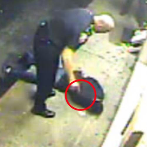 "Cop Punches Citizen ""For No Apparent Reason,"" Steps on Him"