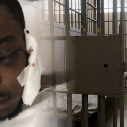 Newly Installed Cameras in Jail Capture Beating