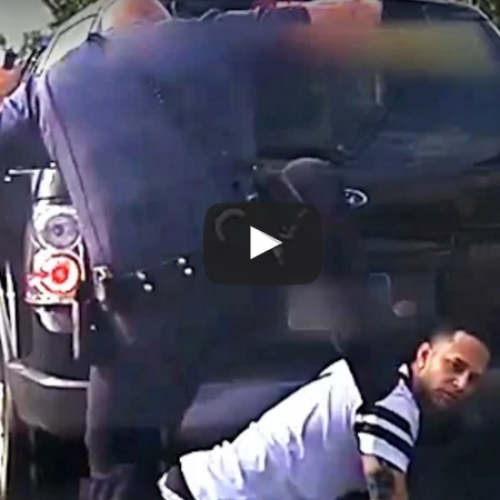 Video Shows Cop Kicking Man in the Head as He Was Surrendering