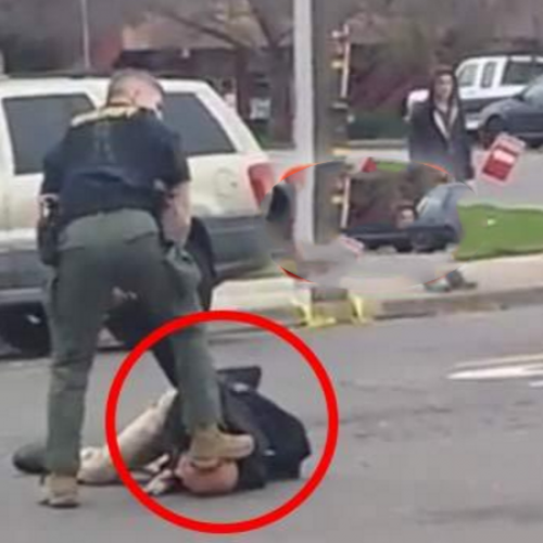 Cop Beats Man and Stomps His Head for Asking Him to Move His Car