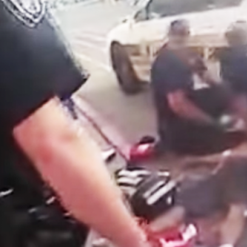 Cops Suffocate Unarmed Mentally Ill Man to Death and Fist Bump