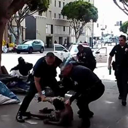 LAPD Cops Will Not Face Charges for Killing Unarmed Homeless Man