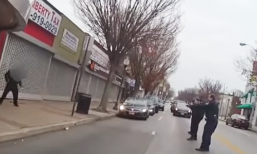 Body Cam Shows Multiple Cops Shoot a Mentally Ill Man for Holding Knives