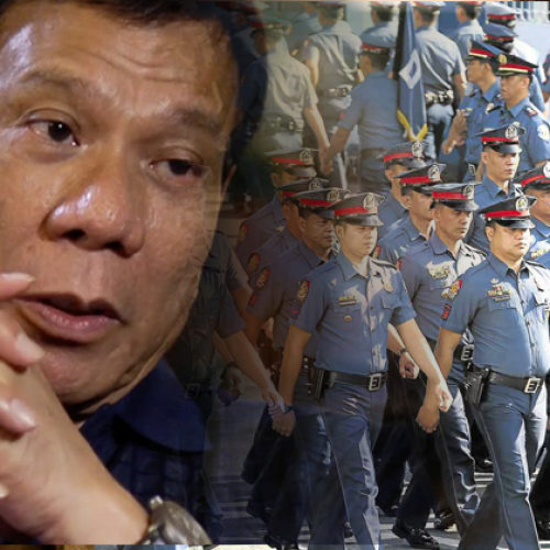"""Philippine President Denounces Police as """"Corrupt,"""" Dismisses 100 Officers for Using Drugs"""