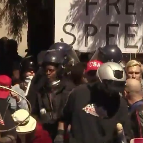 Trump Supporters Return to Berkeley, Vow to Defend Free Speech
