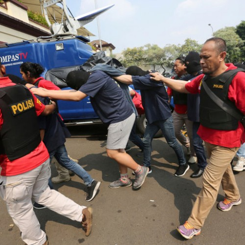 Indonesia Police Arrest 141 Men Accused of Being Homosexuals
