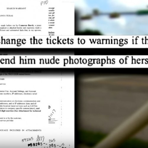 Veteran Officer Offered to Dismiss Tickets in Exchange for Nude Photos