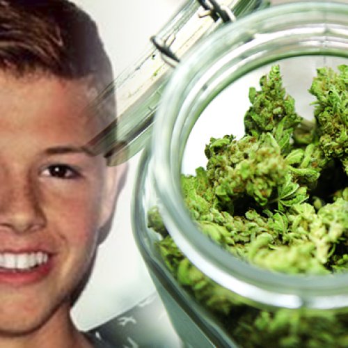 Doctors Gave Boy 3 Days to Live, Then His Mom Secretly Gave Him Cannabis