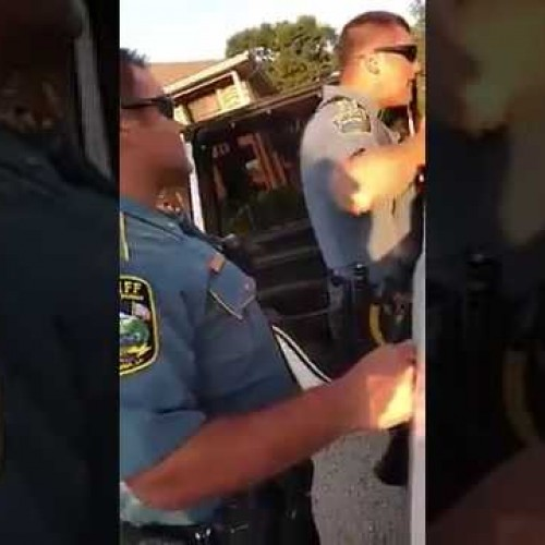 "[VIDEO] Louisiana Cop Threatens To Fight Teenage Suspect! ""Want Me To Take These Handcuffs Off And See What You Really About?"""