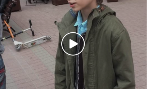 Russian Boy Reading Hamlet Arrested by Moscow Police