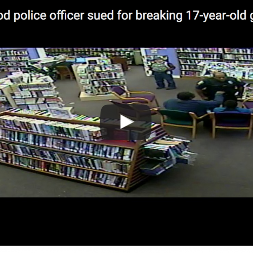 [VIDEO] Watch Ohio Police Officer Break Teenage Girls Jaw Inside Library