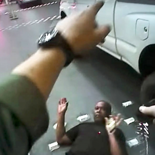 [VIDEO] Las Vegas Police Officer Who Tasered and Choked Man To Death Charged
