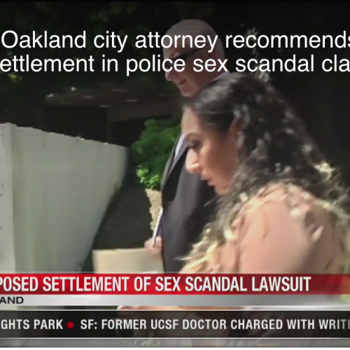 Oakland Officer Pleas Not Guilty In Child Prostitution Scandal, City Settles For ~$1m