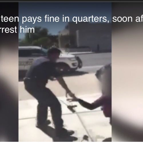 Deming Teen Pays Fine In Quarters Then Arrested