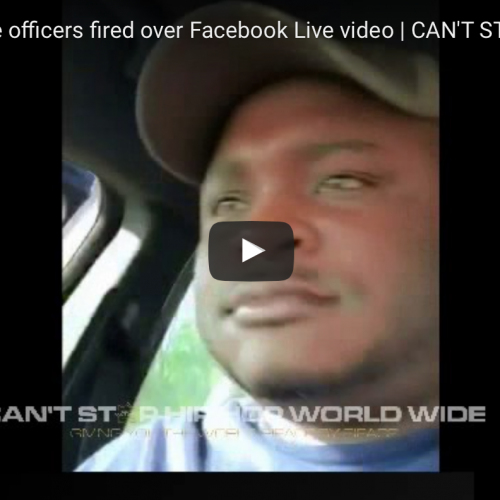 Cops Brag About Arrests & Killing Dogs on Facebook Live, Both Fired as a Result