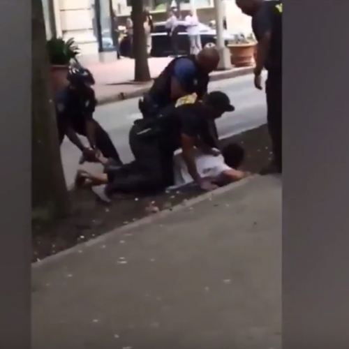 Georgia Cop Beats Man While He's Being Held Down By 2 Other Officers