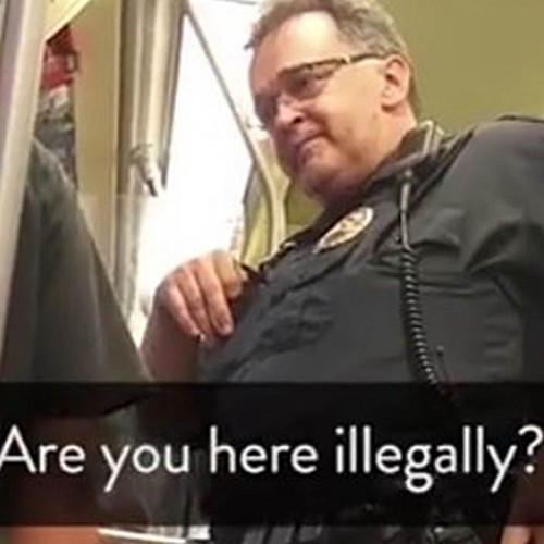 "Transit Cop from Minnesota Who Asked Man' is he was ""Here Illegally"" Still Working as Officer"