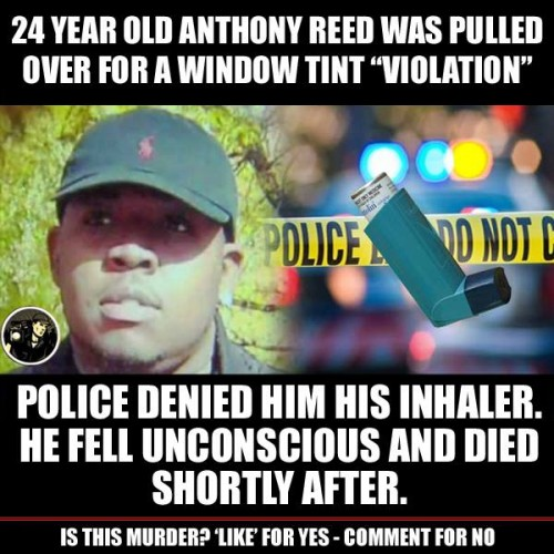 Police Refuse Asthmatic Man his Inhaler and he Dies During Traffic Stop in Detroit