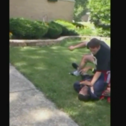 "Cop Chokes Black Teen Threatens ""I Will F**king Kill You"" For Walking On Grass"
