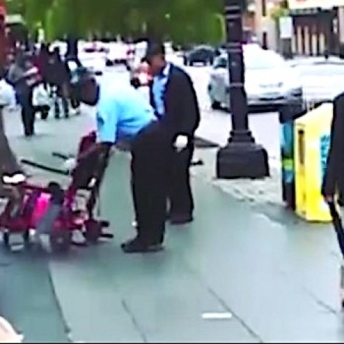Howard Police Officers Fired For Dumping Female Patient In A Wheelchair On The Ground
