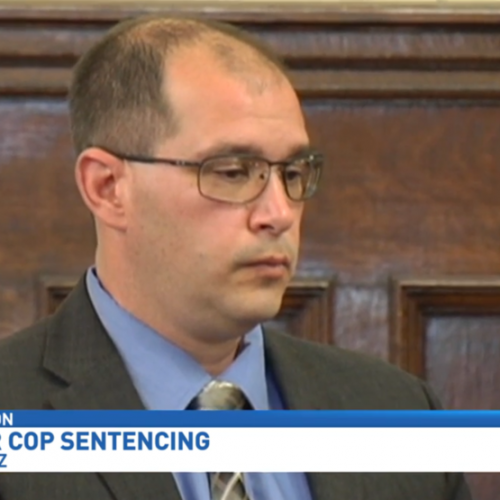 Former Officer Erich Fritz Convicted on a Charge of Unlawful Imprisonment