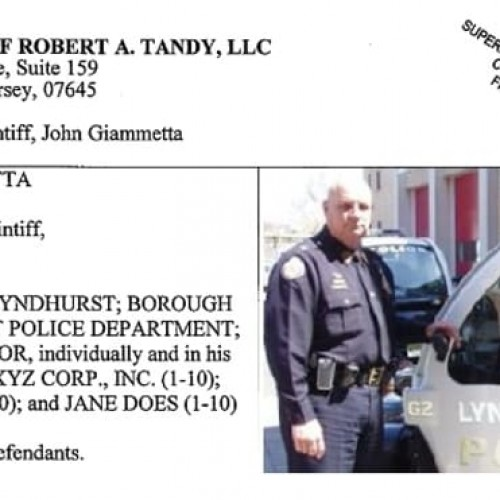 Lyndhurst Sergeant says Chief James O'Connor Altered Reports