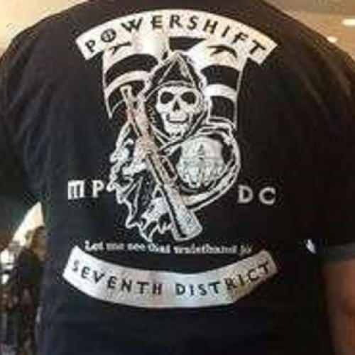 Washington Police Officer Suspended After Complaint of Racist T-shirt Sparks Outrage