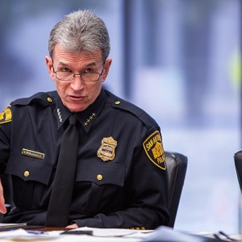 San Antonio Police Chief Says He's Sick of The Police Haters