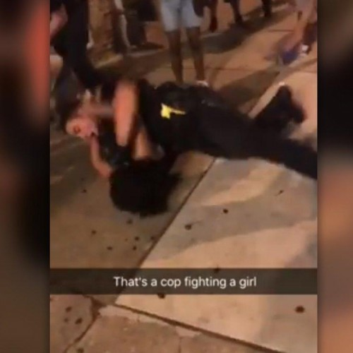 Facebook Video Showing Cop Punching Woman Sparks Investigation