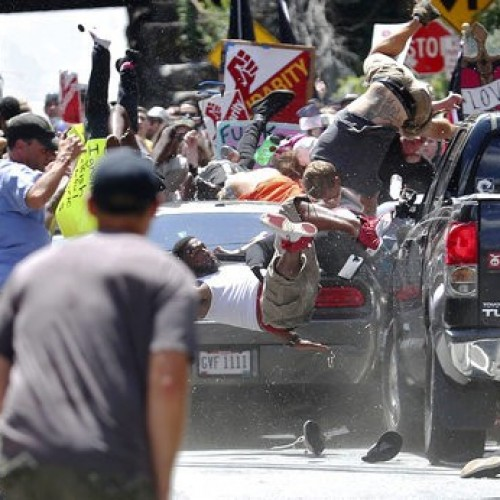 Massachusetts Cop on Facebook Mocks Protesters Hit by Car in Virginia: 'Hahahaha Love This'