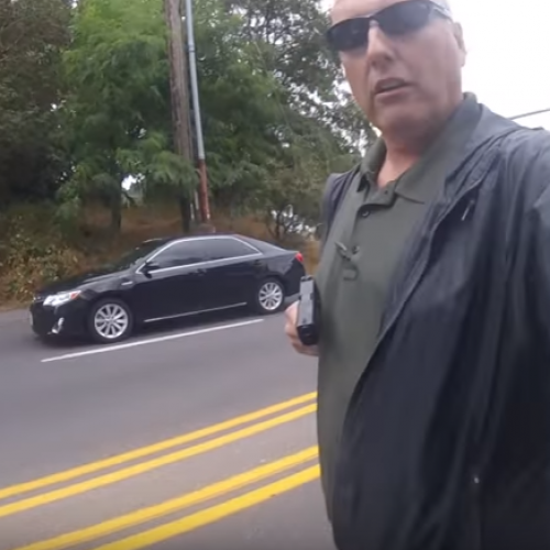 [WATCH] Suspended King County Detective Caught on Video Pulling a Gun During a Traffic Stop Identified