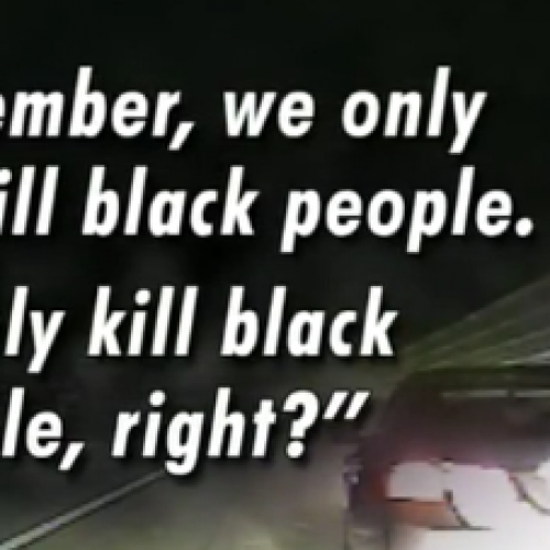 [WATCH] Police Officer at DUI Stop Tells Nervous Driver 'We Only Kill Black People'