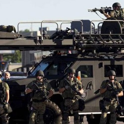 Trump's Plan to Escalate Militarized Policing Will Make Police Brutality Worse