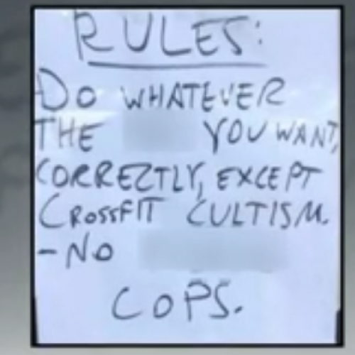 News Video: Atlanta Gym Owner Makes No Apologies for 'No Cops' Sign
