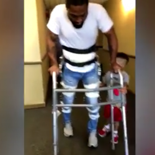 [WATCH] Man Paralysed After Being Shot Four Times by Pittsburgh Police Walks Again
