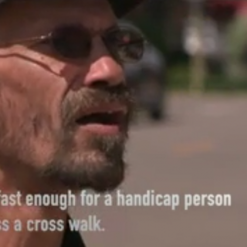 News Video: Man in Wheelchair Ticketed For Not Crossing Road Fast Enough After Being Hit by SUV
