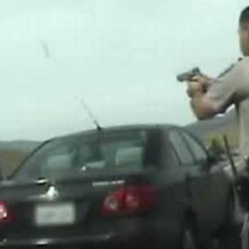 WATCH: Newly Released Video Raises Questions About Man Who Was Shot by CHP Officer
