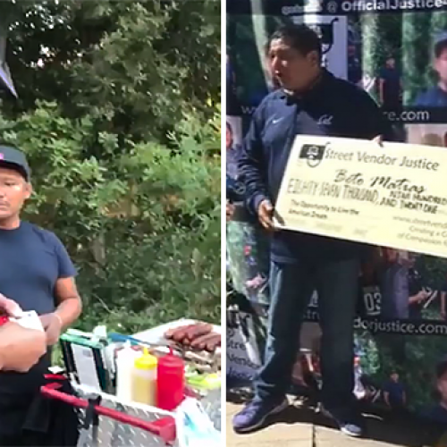 [WATCH] Hot Dog Vendor Receives $87K Check After Cop Seizes His Money in Viral Video