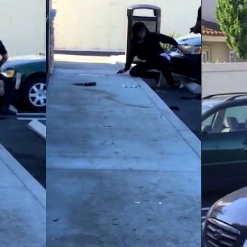 [WATCH] Huntington Beach Police Officer Struggles With Suspect Before Fatal Shooting
