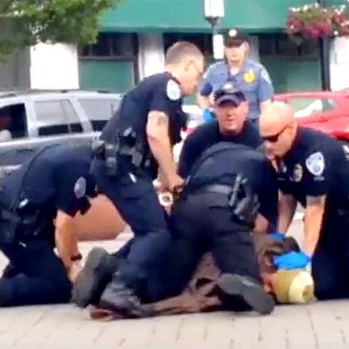 [WATCH] Oregon Police Pounce on Autistic Homeless Man for Trying to Explain Federal Disability Law to Them