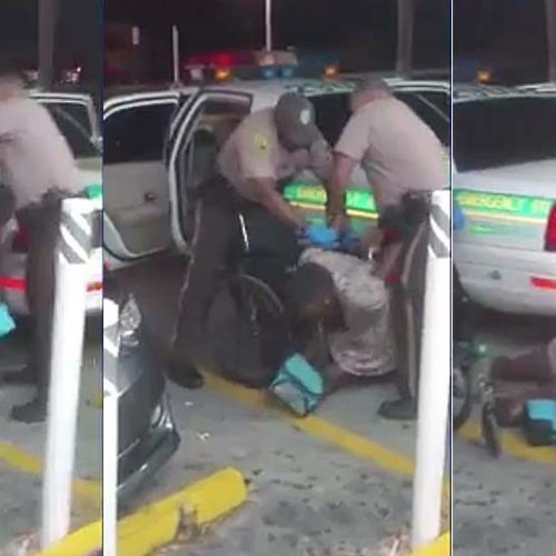 South Florida Cops Caught on Video Dropping Handcuffed, Legless Woman to Ground, then Harassing Videographer