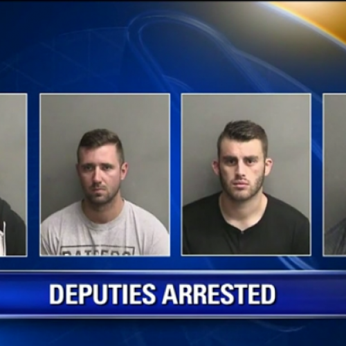 [WATCH] Four Deputies Arrested for Letting Inmate Throw Feces in Santa Rita Jail
