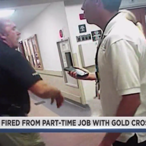 [WATCH] Detective in Nurse Arrest Video Fired From Job at Gold Cross