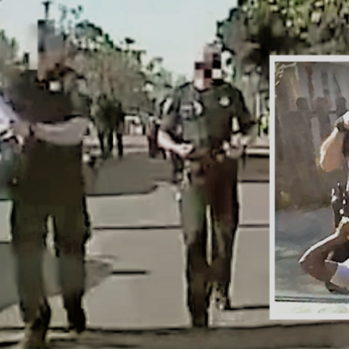 [WATCH] Dash Cam Shows Man Was Not Jaywalking When Beaten by Sacramento Cop