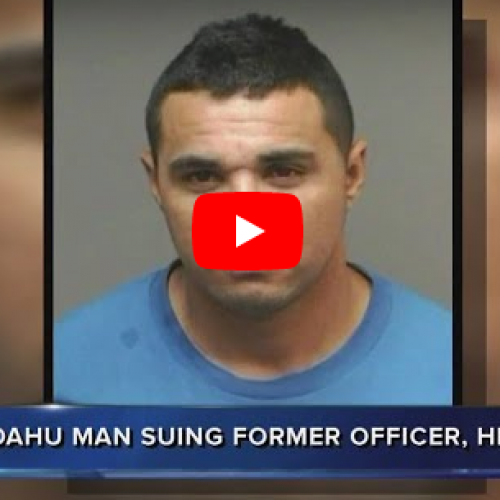 [WATCH] Honolulu Police Officer Faces Lawsuit After Pleading No Contest to Assault