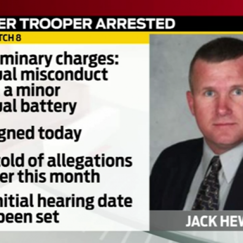 [WATCH] Indiana State Police Officer Resigns After Arrest For Child Abuse