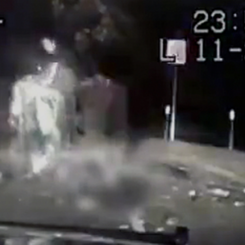 [WATCH] California Cop Won't Be Charged for Shooting Man After Rollover Accident