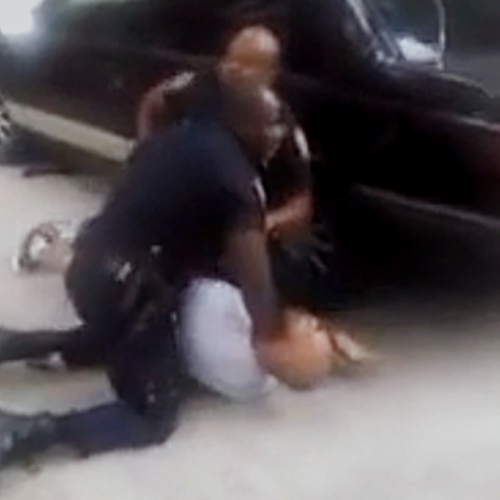 [WATCH] NYPD Cop Caught on Video Stomping on Man's Head Over Alleged Marijuana Joint