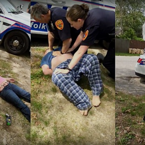 [WATCH] Suffolk County Police Once Again Arrest Man for Recording Them in Public
