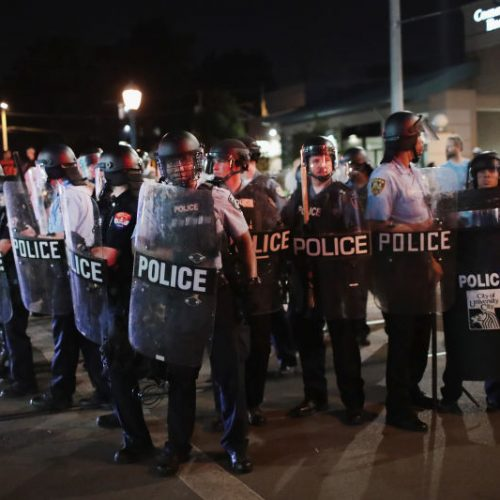 St. Louis Police Chant 'Whose Streets? Our Streets' While Making Arrests During Protests
